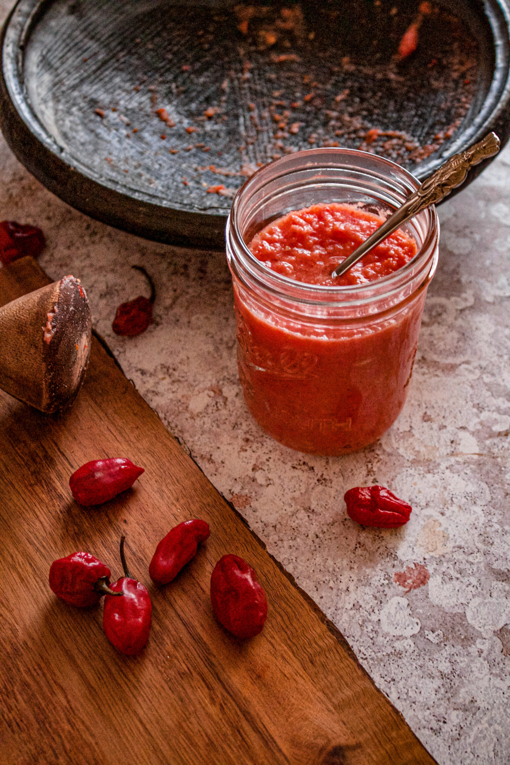 GHANAIAN RAW RED PEPPER
